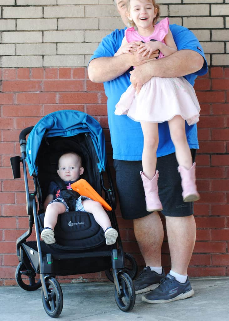 San Antonio lifestyle blogger, Cris Stone, shares why she thinks the Ergo 180 Reversible Stroller is the best for a small car. Find out more!