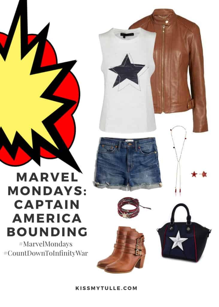 Marvel Mondays: Captain America Bounding #MarvelBounding #MarvelMovies #CaptainAmerica #Avengers #CountDownToInfinityWar #MarvelMondays