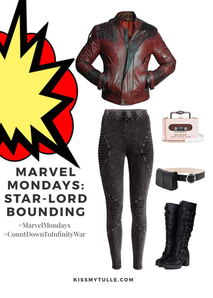 Texas Mom Blogger, Kiss My Tulle, is sharing bad boy, 80's music, and quippy comebacks king... Star-Lord! #MarvelMondays #StarLordBounding #MarvelBounding #MarvelMovies #StarLord #GuardiansoftheGalaxy #CountDownToInfinityWar