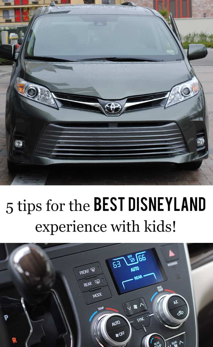 Melanie, Finn, and I just got back from visiting Disneyland and it was a blast! I was so excited to introduce the OG Disney park to my kids for the first time. We went for four days and took a few friends with us. It was a magical time, y'all! Here's 5 tips for the best #Disneyland experience with kids! #hosted #DriveToyota #LetsGoPlaces #Sienna #dsmmc