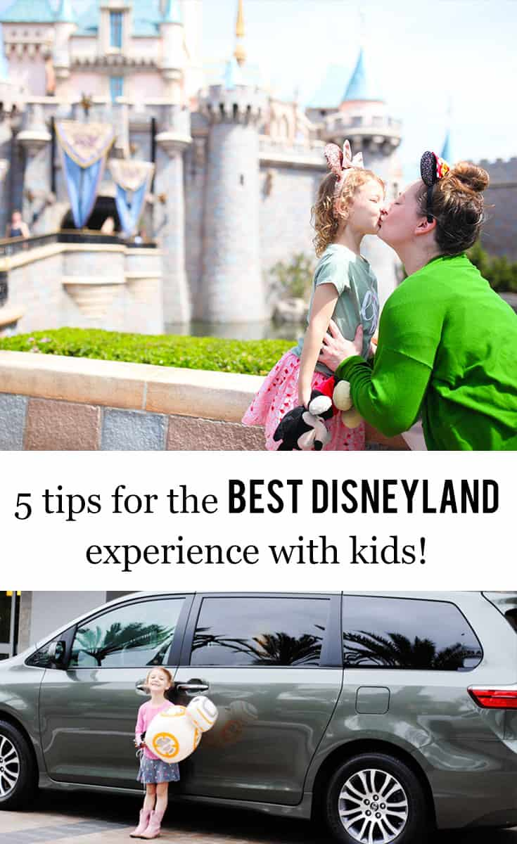 San Antonio lifestyle blogger, Cris Stone, share her five tips for the best Disneyland experience with kids! Click to find out more!