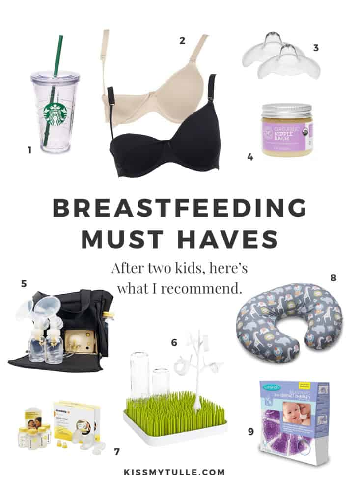 After nursing two kids, San Antonio lifestyle blogger, Cris Stone, shares the items she thinks are a must haves for easier breastfeeding.
