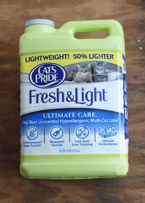 Just buy a green jug of@catspride Fresh & Light®! That's it. For every green jug purchased, a POUND of litter will be added to the total amount to be donated. #ad #LitterForGood #CatsPride