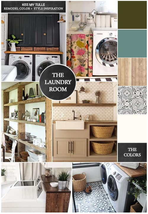 Our Plans for the Laundry Room Remodel #remodeling #laundryroom #homeimprovement