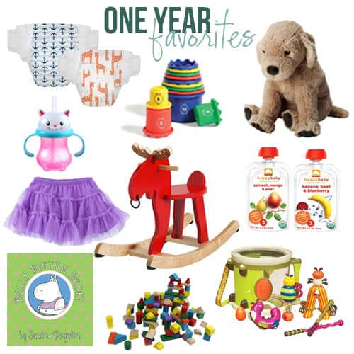 One Year Baby Must Haves