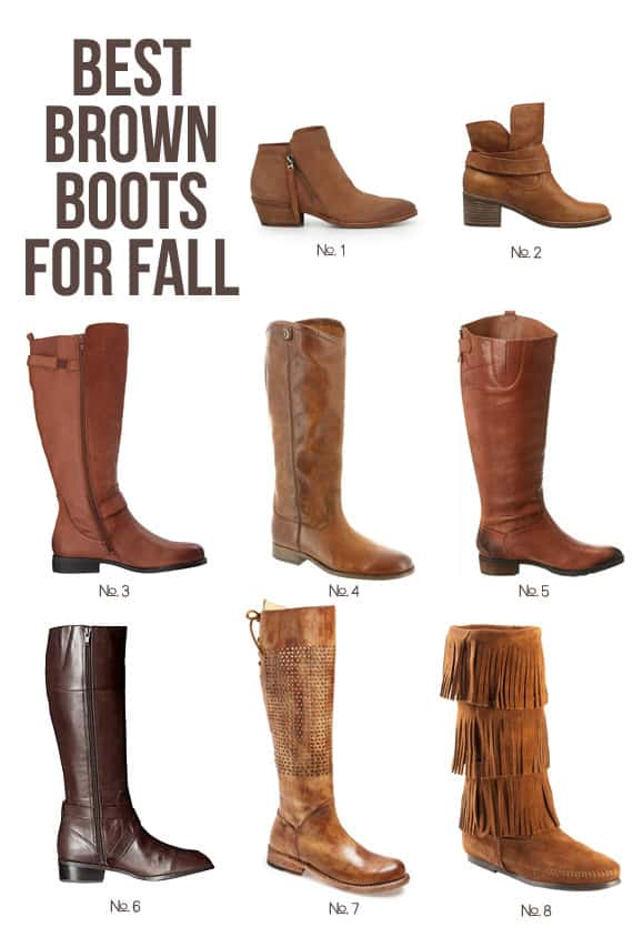 The Best Brown Boots for Fall That You Can Buy on Amazon Prime Today #amazonprime #fall #fashion #fallfashion #brownboots #boots #ootd