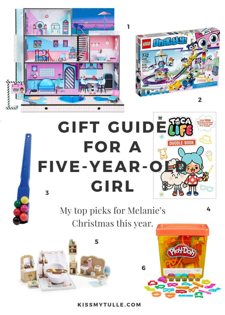 Phew! How many of you have been doing your Christmas shopping this weekend? We did a bit on Black Friday and I'll be snagging a few things for the kids today. Here's what we're looking to get Melanie this year for Christmas.