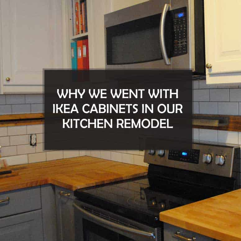 Texas mom blogger, Kiss My Tulle, shares why she went with #Ikea #cabinets in her #kitchen #remodel!
