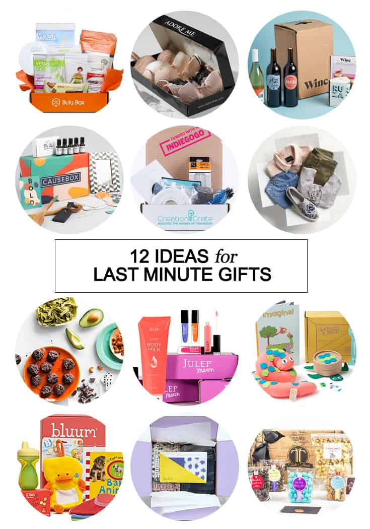 Still looking for a gift that you can give stress-free? Use any one of these 12 subscription box gift ideas for all those last minute gifts!