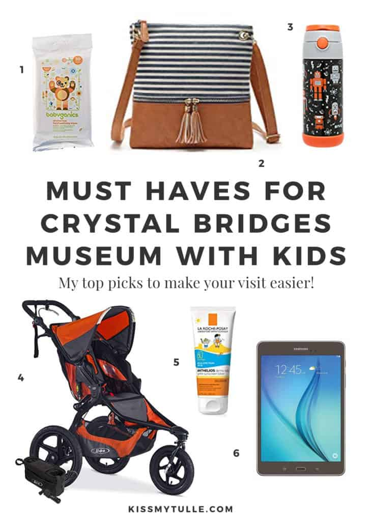 If you're planning a future visit to the museum with your crew, then let me share with you my six must haves when visiting #CrystalBridgesMuseum with #kids. #tmom #travel
