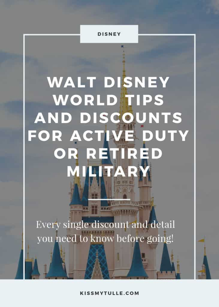 It surprises me how many people with a #military affiliation don't take advantage of the multiple discounts and opportunities that #Disney offers our military and it's veterans. Here's a rundown of all the #WaltDisneyWorld tips and discounts For active duty or retired military! #WDW #DCD