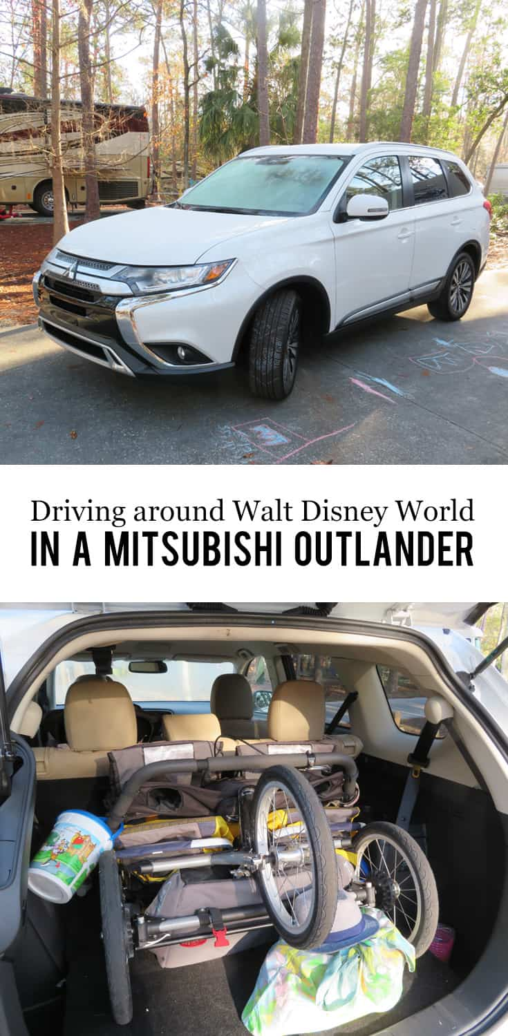 Texas Mom Blogger, Kiss My Tulle, is sharing why, instead of making use of the free #waltdisneyworld transportation system or doing ridesharing - she likes having her own vehicle to tool around in. #DriveMitsubishi