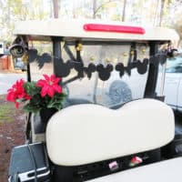 DIY Mickey Mouse Banner For Fort Wilderness Golf Cart