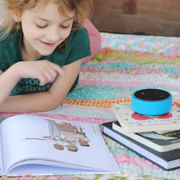 Parenting Hack: Have Echo Dot Kids Edition Read Your Kids A Book