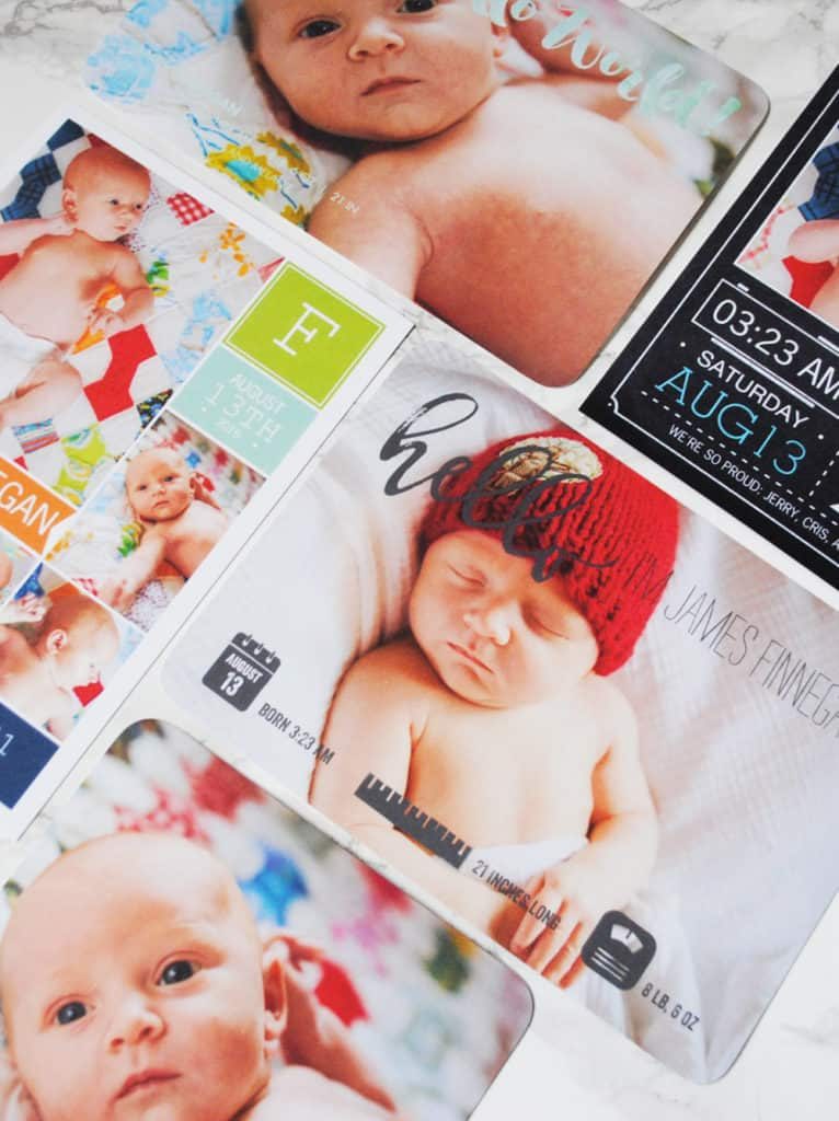 Texas Mom Blogger, Kiss My Tulle, shares how she got baby ready with Mixbook.