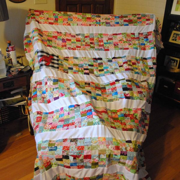 Wedding Wednesday: Our Wedding Quilt and a Short DIY