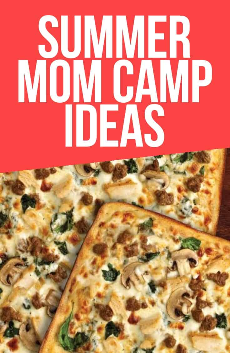 I'm doing Summer Mom Camp! I mean, a really laidback and relaxed version because I'm the Patron Saint of Slacker Moms but, hey! Summer Mom Camp! #ad