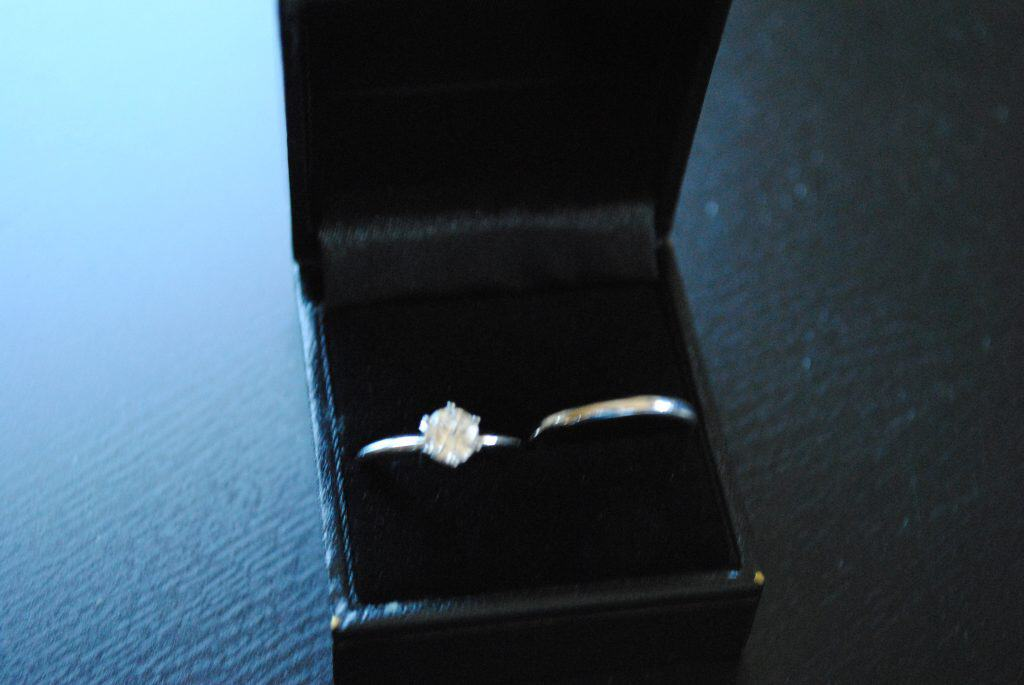 Texas Wedding Blogger, Kiss My Tulle, shares how she went engagement ring shopping and got one kick ass engagement ring and wedding band for $159.83!