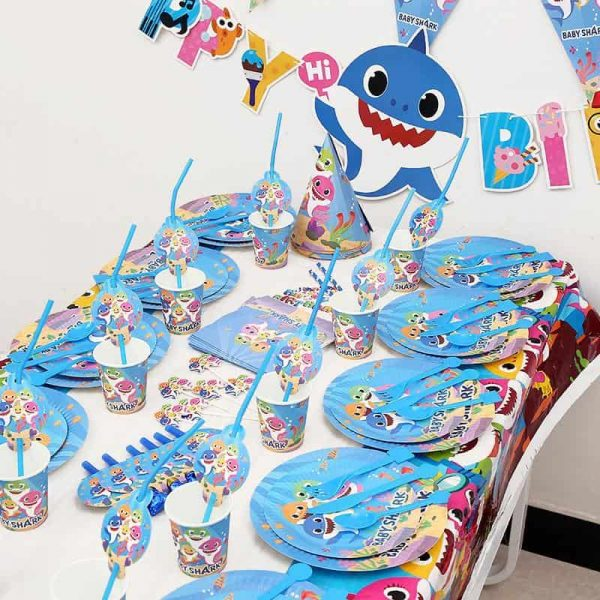 Buy Everything You Need For A Baby Shark Birthday Party with Amazon Prime