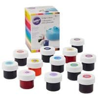 12-Count Gel-Based Wilton Icing Food Colors