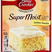 Super Moist Golden Vanilla Cake Mix