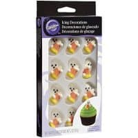 Wilton Halloween Ghost Decorations with Candy Corn