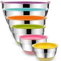 Set of 6 Mixing Bowls with Airtight Lids