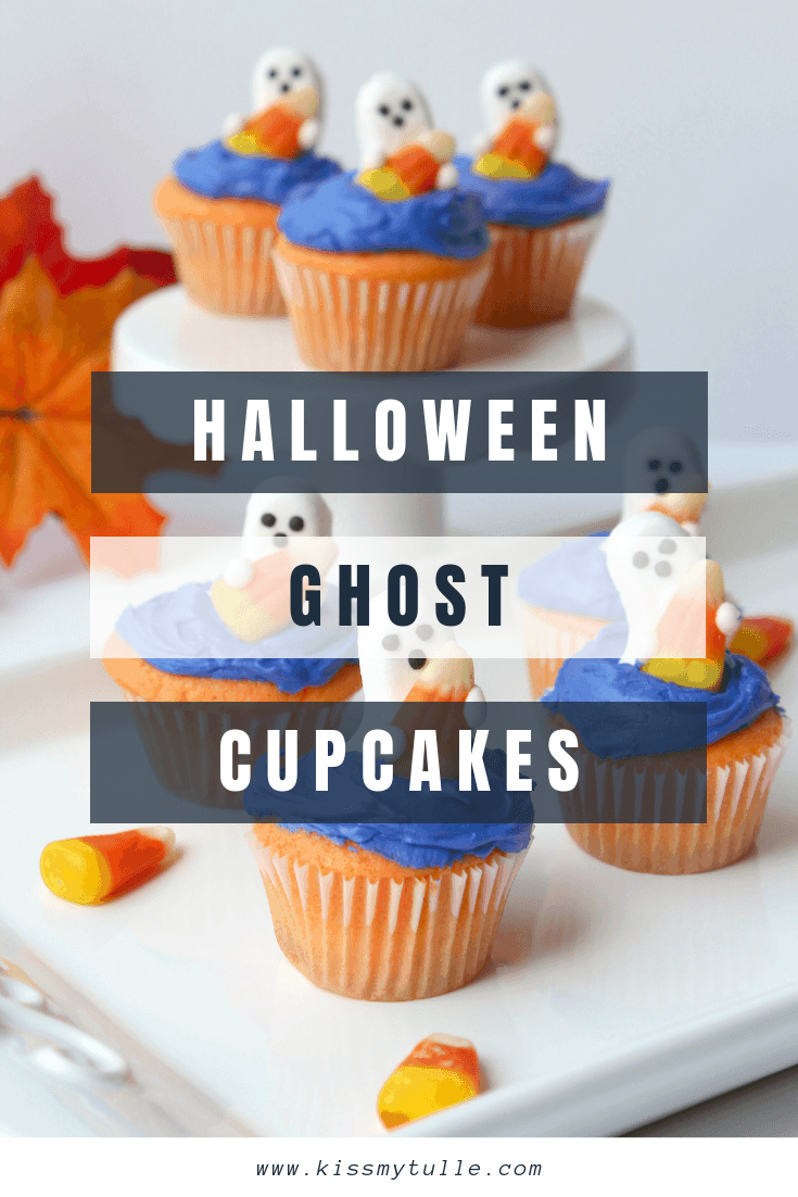 San Antonio lifestyle blogger, Cris Stone, shares her recipe for two dozen cute and easy Halloween ghost cupcakes! Find out more!