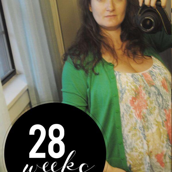 Me At 28 Weeks
