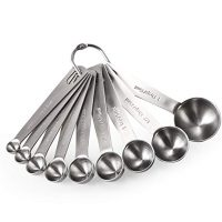 Set of Stainless Steel Measuring Spoons