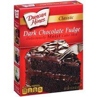 Duncan Hines Classic Cake Mix in Dark Chocolate Fudge