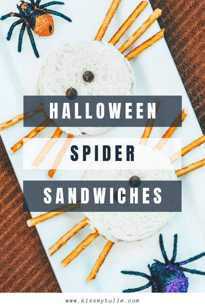 Alaskan lifestyle blogger, Cris Stone, shares how to make these super easy and adorable Halloween Spider Sandwiches! Find out more!