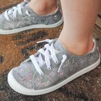 Cheetah Print Kid's Shoes Using My Cricut+ EasyPress Mini DIY