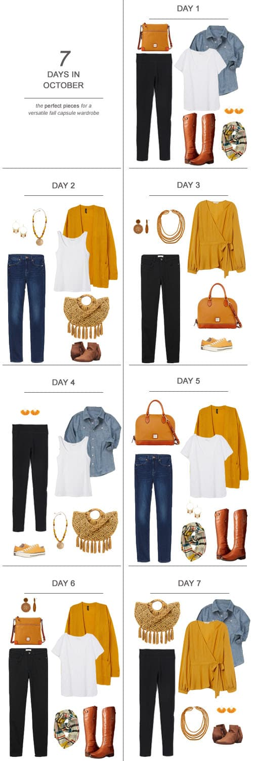 Texas Mom Blogger, Kiss My Tulle shares some solid and affordable fall capsule wardrobe pieces for a few looks perfect for a stay-at-home mom.