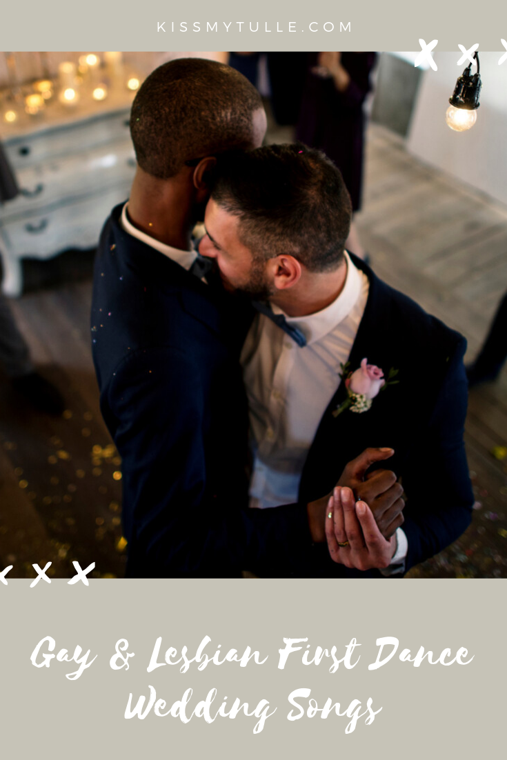San Antonio lifestyle blogger, Cris Stone, shares her recommendations for gay and lesbian couples getting married - because not all love songs are appropriate for all love stories. #LGBTQ #wedding