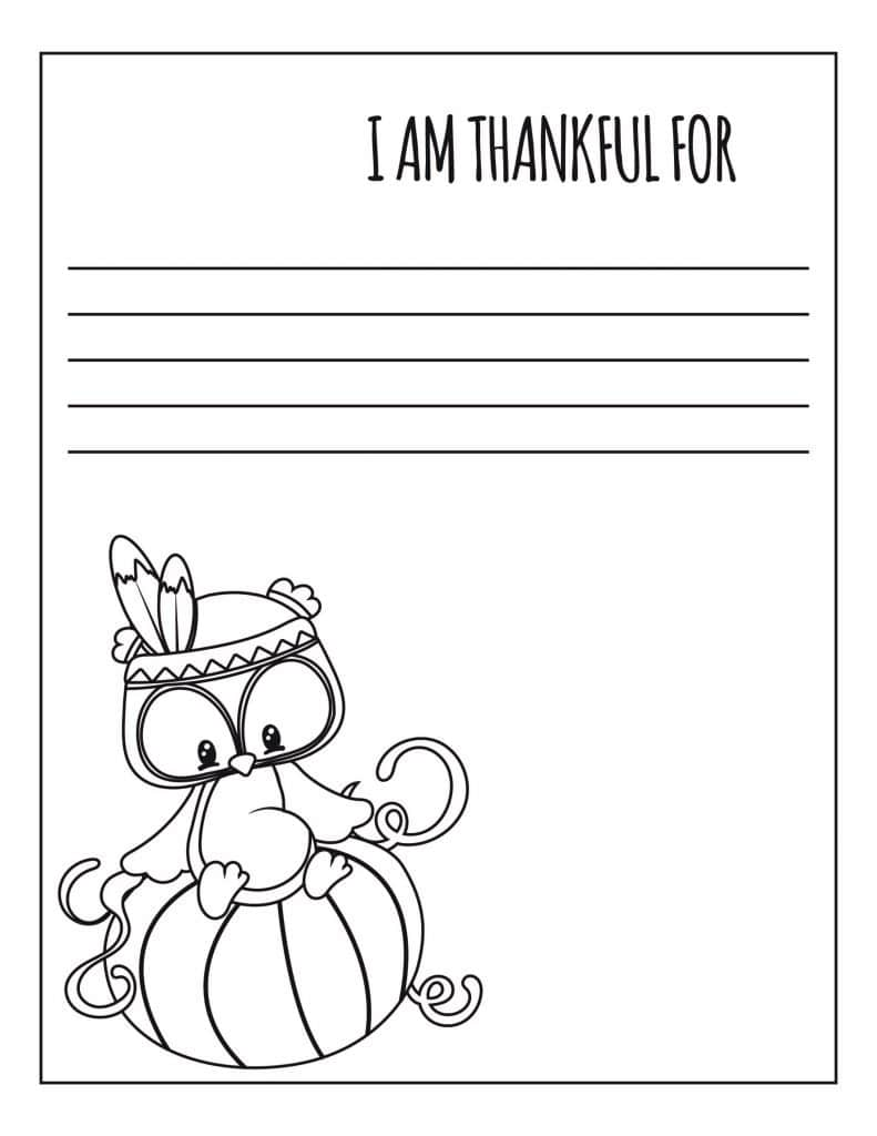 Thanksgiving Coloring: 15 Pages for Little Turkeys | Education.com | 1024x791