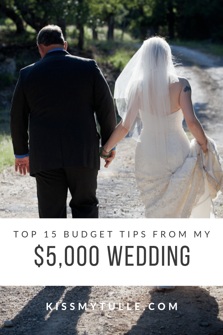 Kiss My Tulle, Alaskan lifestyle blogger, shares thetop 15 budget tips from her $5,000 wedding! Here's the best inspiration, tips, and advice!