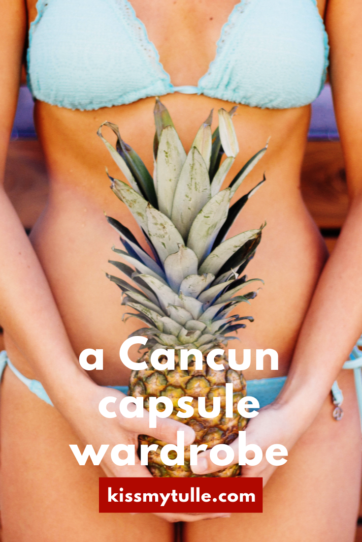 San Antonio lifestyle blogger, Cris Stone, shares her tips and suggestions on packing for 7 days in Cancun. Find out more!