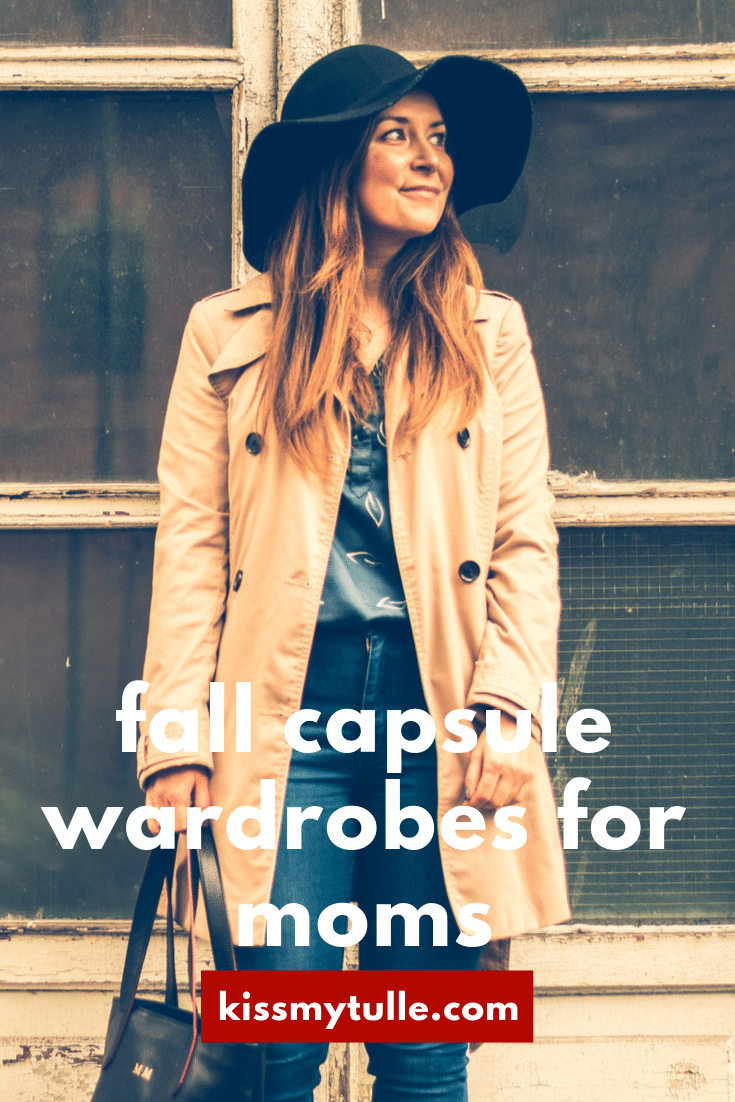 Here's some solid and affordable fall capsule wardrobe pieces (and a couple of investments) for a few looks perfect for a stay-at-home mom: