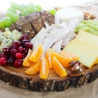Thanksgiving Leftovers Cheese Board