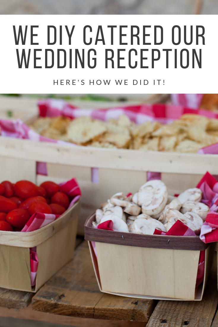 Alaskan lifestyle blogger, Cris Stone, shares how she and her husband DIY catered their own wedding reception. Find out more!