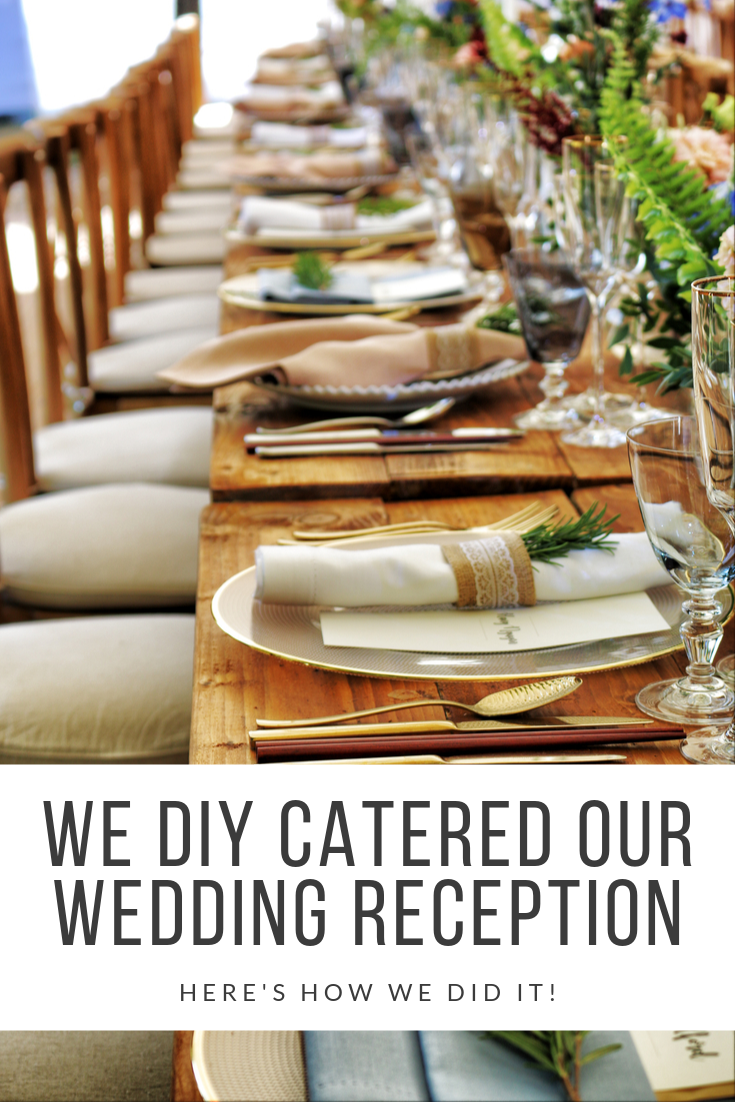 San Antonio lifestyle blogger, Cris Stone, shares how she and her husband DIY catered their own wedding reception. Find out more!