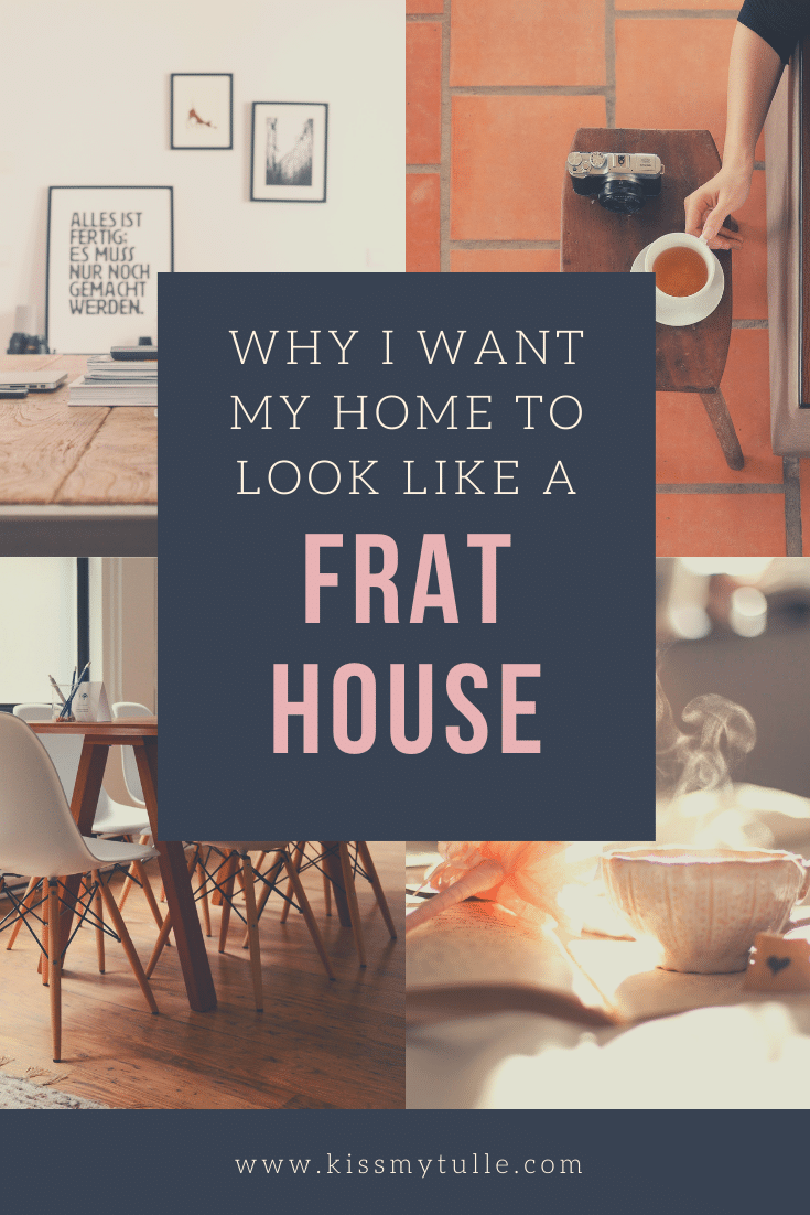 Here's my ode to remodeling or, why I want my house to be more like a frat house. I do want my home to be livable, comfortable, and washable.