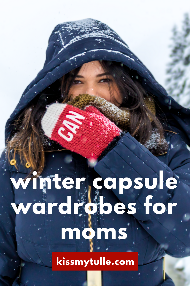 San Antonio lifestyle blogger, Cris Stone, offers some solid and affordable capsule wardrobe pieces (and a couple of investments) for a few winter looks perfect for a stay-at-home mom