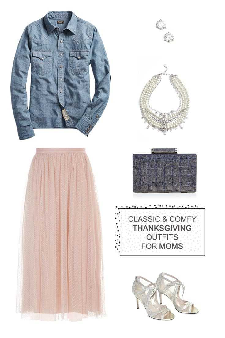 San Antonio lifestyle blogger, Cris Stone, shares a few classic and comfortable Thanksgiving outfits for moms. Find out more!
