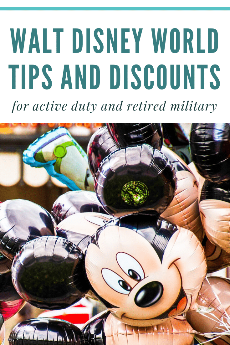 Alaskan lifestyle blogger, Cris Stone, shares a rundown of all the Walt Disney World tips and discounts For active duty or retired military! Click through to find out more!