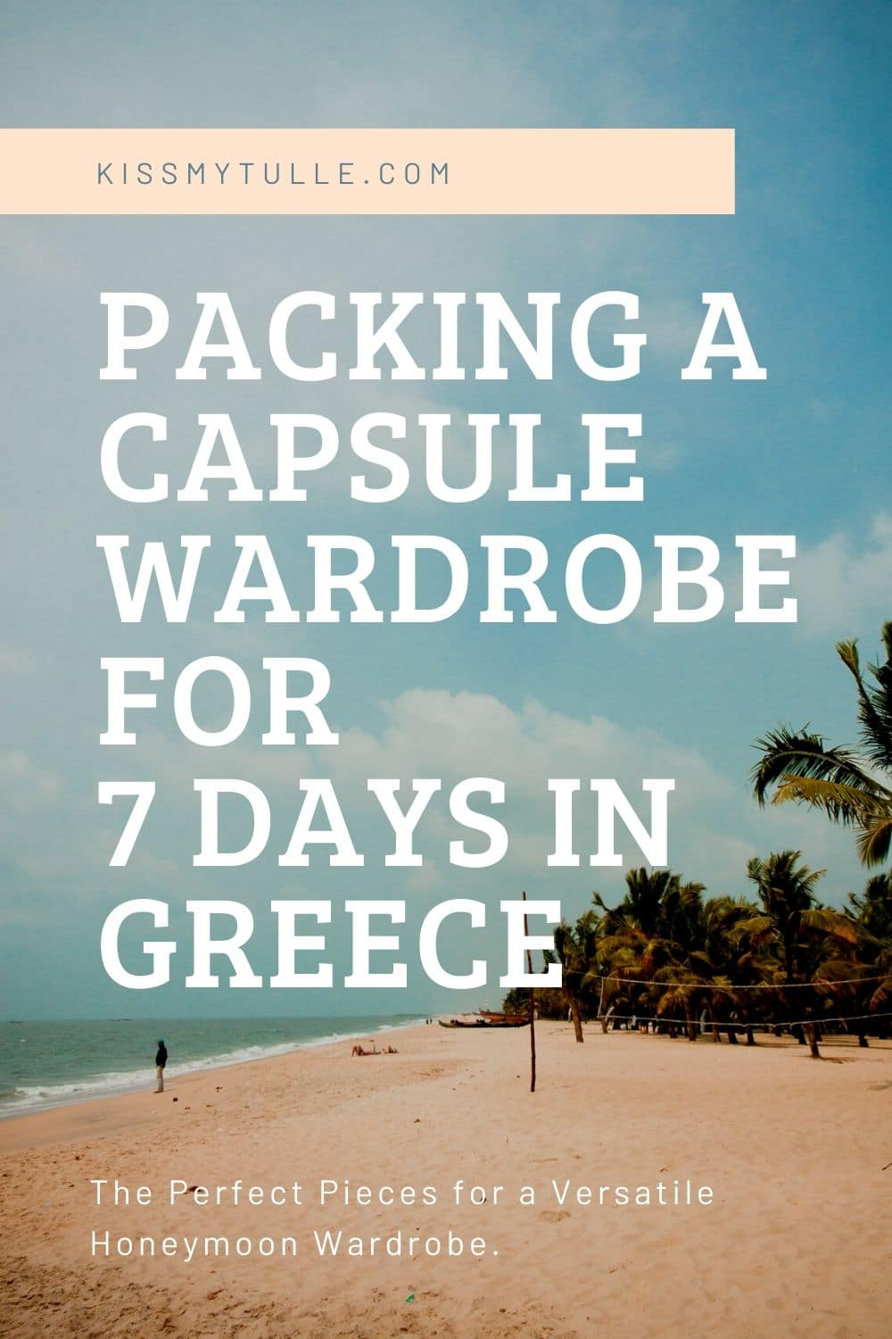 Alaskan lifestyle blogger, Cris Stone, shares her tips and suggestions on packing for 7 days in Greece. Find out more!