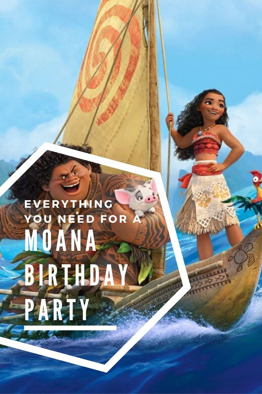 Everything you need to host the ultimate Moana birthday party! Find out more and how you can buy everything TODAY using Amazon Prime.