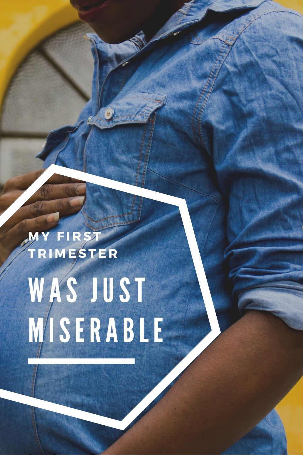 Alaskan lifestyle blogger, Kiss My Tulle, talks about her miserable first trimester. Her first trimester was MISERABLE. Just bad, bad, bad all around. Find out more!