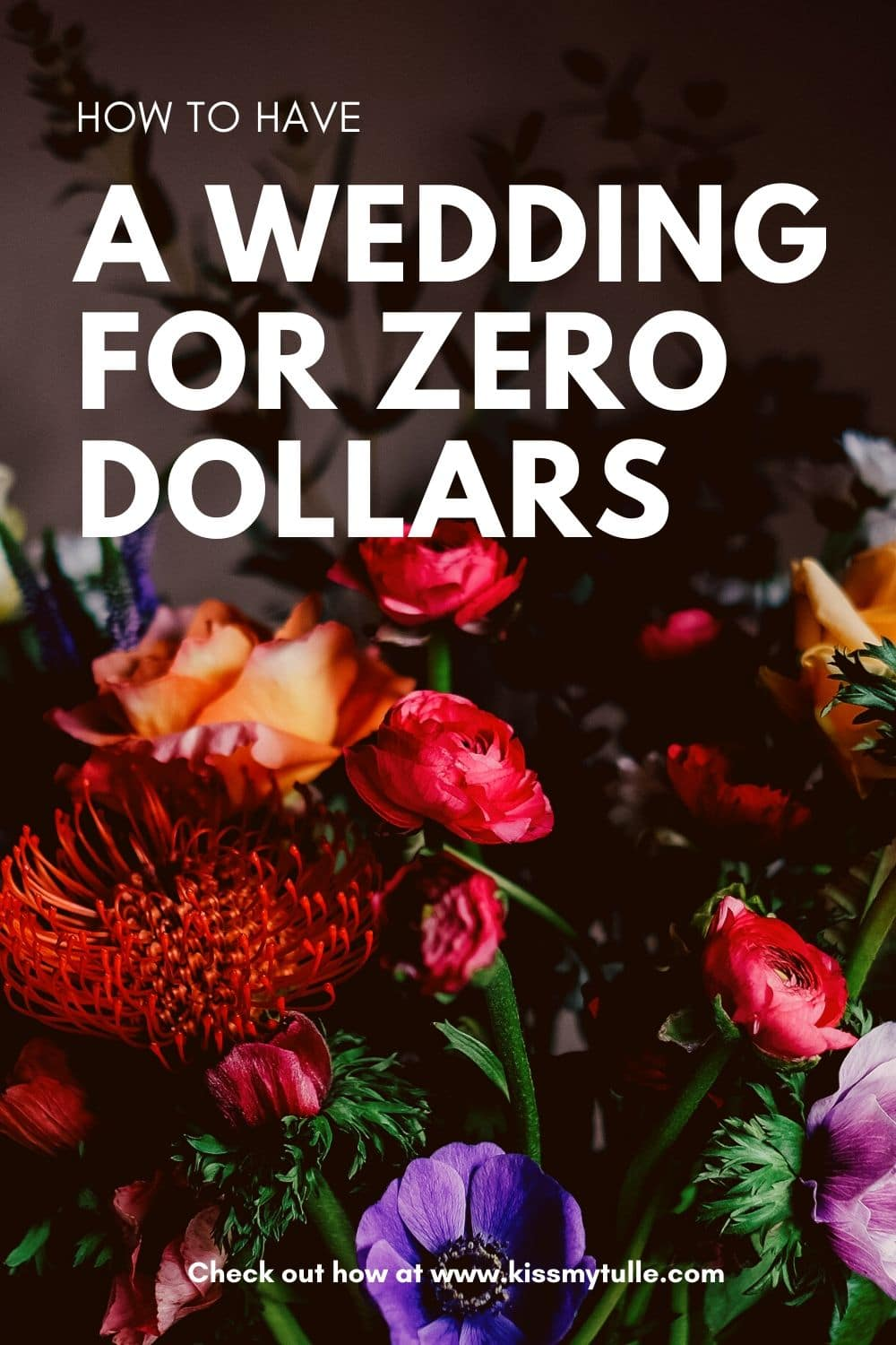 Yes! You can have a wedding for ZERO DOLLARS. Let Alaskan blogger, Kiss My Tulle, show you how you can have a Big Day that costs you nothing.